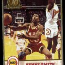 KENNY SMITH 1993 Hoops Gold Insert #82.  ROCKETS