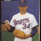NOLAN RYAN 1991 Mother's Cookies Hi Gloss #4 of 4.  RANGERS