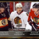 PATRICK KANE 2010 Upper Deck Checklist #199 w/ Toews.  BLACKHAWKS