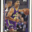 JAY HUMPHRIES 1992 Topps GOLD Insert #372.  JAZZ