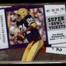 WILLIE WOOD 2010 Panini Playoff Contenders Super Bowl #3.  PACKERS