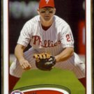 JIM THOME 2012 Topps #371.  PHILLIES