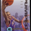 GRANT HILL 1995 Skybox EMotion Pumped Rookie #28.  PISTONS