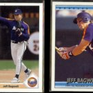 JEFF BAGWELL 1991 Topps #755 + 1992 Donruss Special #BC6.  ASTROS