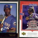 PRESTON WILSON 1998 Bowman #161 + 2004 UD Diamond Collection #AS-PW.  METS / ROCKIES