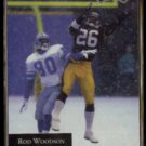 ROD WOODSON 1992 Playoff #130.  STEELERS
