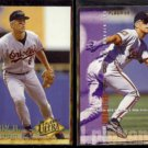CAL RIPKEN Jr. 1994 Ultra #9 + 1995 Fleer #19.  ORIOLES