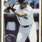 FRANK THOMAS 1994 Fleer Sunoco Insert #23 of 25.  WHITE SOX