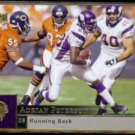 ADRIAN PETERSON 2009 Upper Deck #109.  VIKINGS