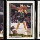 TOM TOLBERT 1993 Hoops GOLD + (2) diff. 1992 Topps GOLD Inserts.  MAGIC / WARRIORS