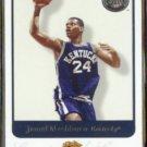 JAMAL MASHBURN 2001 Fleer Greats of the Game # 32.  WILDCATS