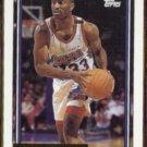 HERSEY HAWKINS 1992 Topps GOLD Insert #260.  76ers