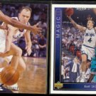 SCOTT SKILES 1994 Upper Deck SP #165 + 1993 UD #17.  BULLETS / MAGIC