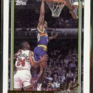 LaPHONSO ELLIS 1992 Topps GOLD Draft Insert #319.  NUGGETS