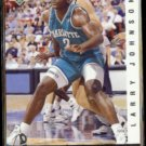 LARRY JOHNSON 1992 UD Jerry West Selects Insert #JW18.  HORNETS