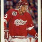 NICKLAS LIDSTROM 1992 Bowman #305.  RED WINGS