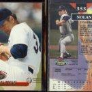 NOLAN RYAN (2) 1993 Stadium Club #353.  RANGERS