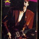 CARLOS SANTANA 1990 Pro Set Music Stars #230.