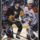 MARK RECCHI  1991 Stadium Club #256.  PENGUINS