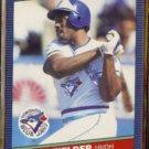CECIL FIELDER 1986 Donruss #512.  BLUE JAYS