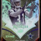 MIKE JENKINS 2008 Upper Deck Icons Rookies #'d Insert 40/150.  COWBOYS