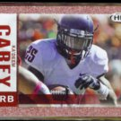 KA'DEEM CAREY 2014 Sage Hit Foil Rookie Insert #25.  WILDCATS