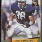 MARK D'ONOFRIO 1992 Ultra Draft Pick #424.  GREEN BAY