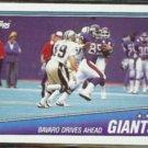MARK BAVARO 1988 Topps Team Leaders #271.  GIANTS