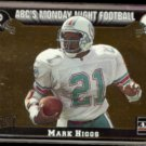 MARK HIGGS 1993 Action Packed ABC's MNF #65.  DOLPHINS