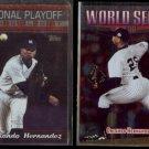 ORLANDO HERNANDEZ 1999 Topps #24 + 1999 Topps #237.  YANKEES