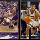 KEVIN JOHNSON 1997 Upper Deck #97 + 1993 Stadium Club #15.  SUNS