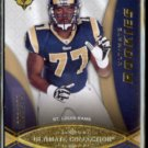JASON SMITH 2009 UD Ultimate Rookies #'d Insert 008/375.  RAMS