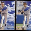 RANDY JOHNSON 1994 UD Electric Diamond (Fantasy Team) Insert w/ sister.  MARINERS