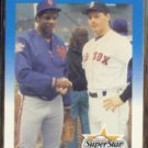 ROGER CLEMENS 1987 Fleer #640 w/ Doc Gooden.  RED SOX