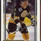 BOB SWEENEY 1992 Topps GOLD Insert #1111.  BRUINS