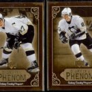 SIDNEY CROSBY (2) 2005 UD Diary of a Phenom Inserts #DP23 + #DP12.  PENGUINS