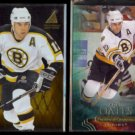 ADAM OATES 1995 Pinnacle Zenith #10 + 2011 UD Parkhurst Champs #44.  BRUINS
