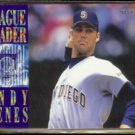ANDY BENES 1995 Fleer League Leader Insert #10 of 10.  PADRES