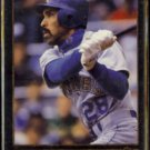 HENRY COTTO 1992 Leaf Black GOLD Insert #472.  MARINERS