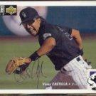 VINNY CASTILLA 1994 UD CC Silver Signature Insert #74.  ROCKIES