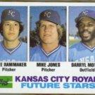 ATLEE HAMMAKER 1982 Topps Future Stars #471.  ROYALS
