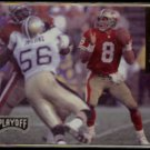 STEVE YOUNG 1993 Playoff PROMO Insert #5 of 6.  49ers