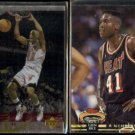 GLEN RICE 1994 UD SE Insert #SE47 + 1992 Stadium Club MC #203.  HEAT