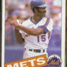 GEORGE FOSTER 1985 Topps #170.  METS