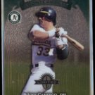 JOSE CANSECO 1997 Donruss Limited (Counterparts) #17 w/ Chili Davis.  A's
