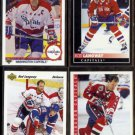 ROD LANGWAY (4) Card Lot (1990 - 1993).   CAPITALS
