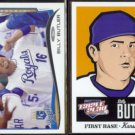 BILLY BUTLER 2014 Topps #255 + 2012 Panini Triple Play #35.  ROYALS