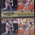 BARRY BONDS 1994 UD CC Top Performers Silver Sig. Insert w/ sister.  GIANTS