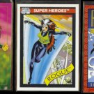 ROUGE (3) Card Marvel Lot (1990, 1992 + 1993).  Comic