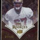 KENTWAN BALMER  2008 Upper Deck Icons Rookie #'d Insert 666/750.  49ers
